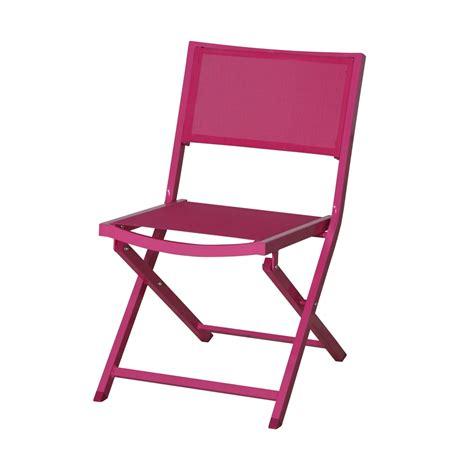 chaise pliantes chaise pliante coloris sydney chaises de jardin