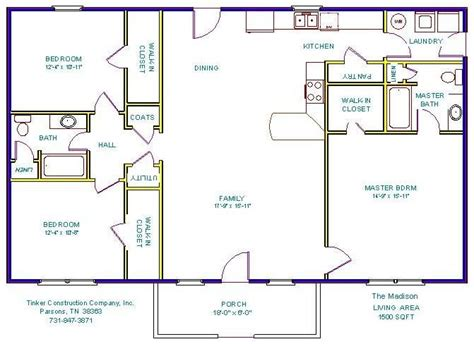 1500 sq ft floor plans 1500 sq ft house plans search simple home