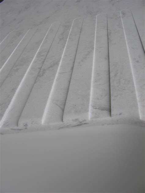 corian board integrated drain board in quot cloud quot corian yes