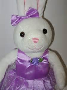 Purple Bunny Stuffed Animal