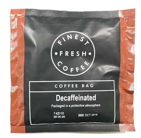 If you are a passionate coffee fan and take your morning coffee very coffee bags come in a vast variety of sizes, shapes, colors, styles, and materials. Decaf Coffee Bags | 100 Individual Sachets | A1 Coffee