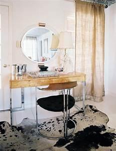 Chrome, Vanity, Chair, -, Contemporary, -, Bedroom