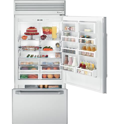 ge monogram  professional built  bottom freezer refrigerator zicpnxrh ge appliances