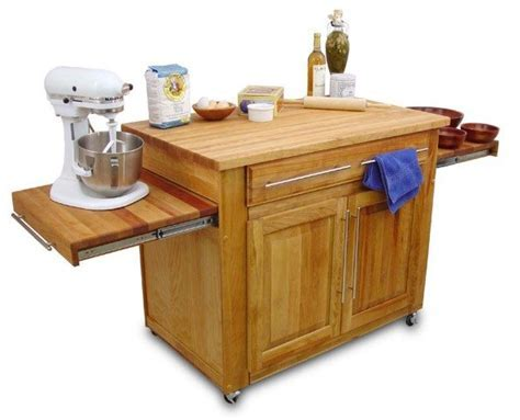 Catskill Craftsmen The Empire Island Kitchen Trolley at