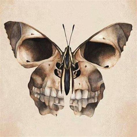 Butterfly Skull Freak Pinterest