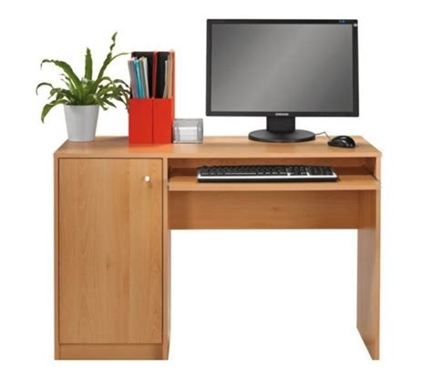 computer desk pull out keyboard shelf beech desk home office computer work station pull out