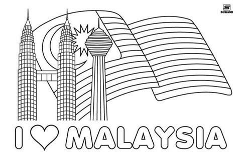 jom  himpunan contoh poster bendera malaysia