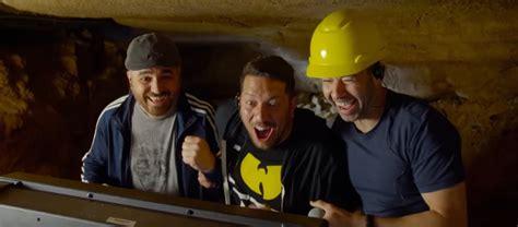 impractical jokers  trailer brings hidden camera