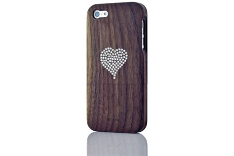 wood iphone cases solid wood for iphone 5 walnut idryad