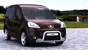 Dimension Peugeot Partner : 13v4313 peugeot partner tepee eu pedestrian protection bar 60 low with cross pipe 38 youtube ~ Medecine-chirurgie-esthetiques.com Avis de Voitures