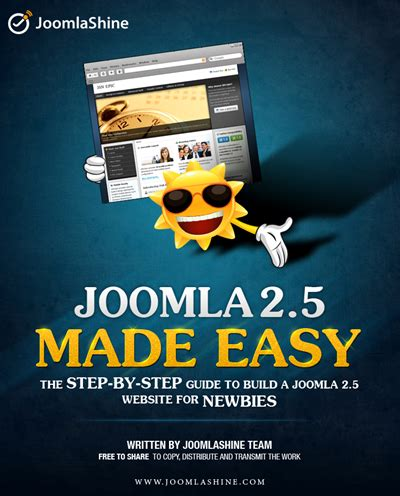 make a joomla template in 5 easy steps 4 must have joomla e books for joomla newbies