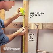 Kitchen Sink Rough Plumbing How To Plumb A Pedestal Sink The Family Handyman