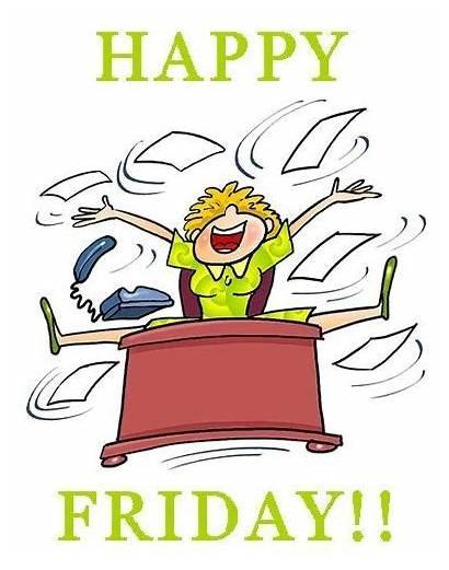 Happy Friday Weekend Funny Clip Cartoon Morning