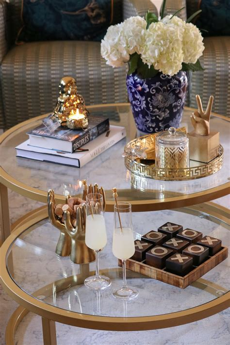 We offer modern coffee table decor ideas, country, tray, and glass coffee table decor! HOW TO STYLE YOUR COFFEE TABLE - MYRIAD MUSINGS