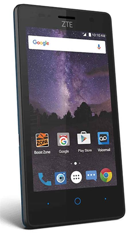 cheap boost phones boost mobile added zte tempo smartphone that offers