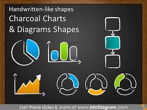Handwritten Charts Progress Indicator Charcoal Clipart Ppt