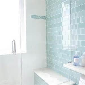 blue tiles bathroom ideas gray mosaic shower floor design ideas