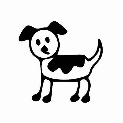 Stick Dog Sticker Vinyl Decal Calculated Checkout
