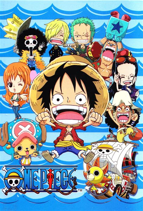 piece chibi mugiwara pirates