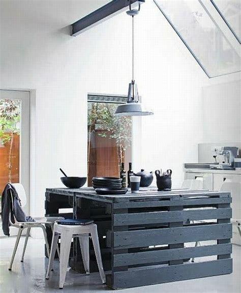 meuble cuisine en palette les palettes en meuble cahier d 39 idées
