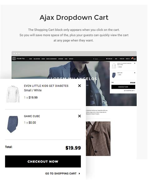 themes templates for 2 items per product page forte responsive shopify template by halothemes