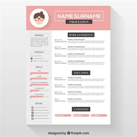 Free Sle Resume Template by Free Resume Templates Graphic Design Create Resume Free