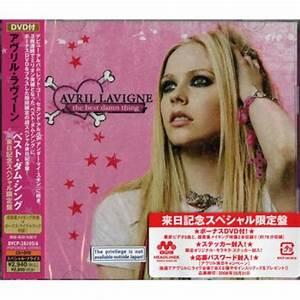 Avril Lavigne The Best Damn Thing Japanese Cd/Dvd Set BVCP ...