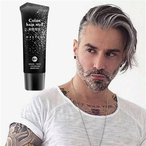 50 Ml Disposable Silver Gray Color Hair Gel Cream Color