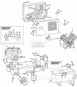 Campbell Hausfeld Ciq8g030h Parts Diagram For Air