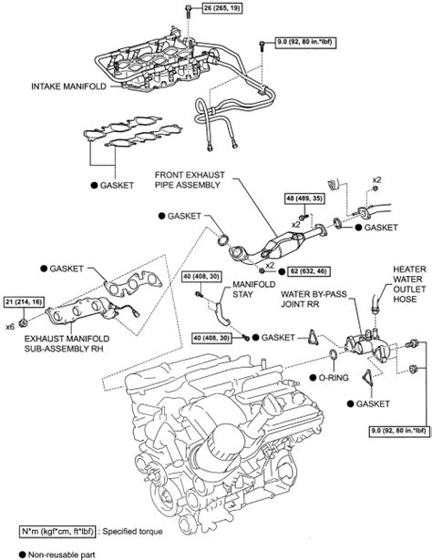 Toyotum 2 4 Engine Intake Manifold Diagram by Repair Guides Engine Mechanical Components Intake