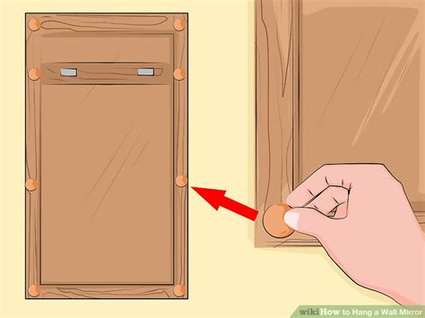 How To Hang A Bathroom Mirror On Drywall by How To Mount A Frameless Mirror On Drywall Mirror Ideas