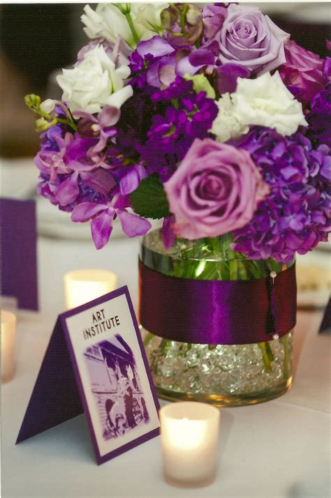 roses centerpieces ideas low centerpiece of dark purple hydrangea lavender roses stock and lisianthus everything