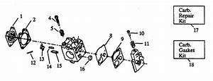 34 Craftsman Leaf Blower Carburetor Diagram