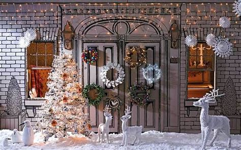 outdoor decorations uk all is bright decorations telegraph