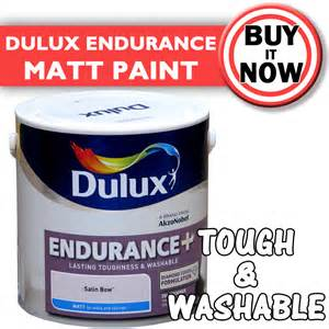 Dulux Endurance Washable Tough Emulsion Paint Matt 2 5L