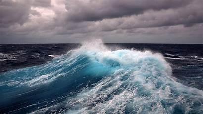 Waves Ocean Desktop Icy Wallpapers Pixelstalk
