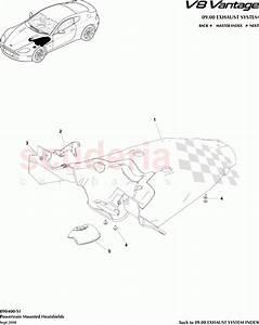 Aston Martin V8 Vantage Powertrain Mounted Heatshields Parts