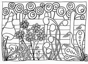 Coloriages Jardin Secret Adultes Page 2