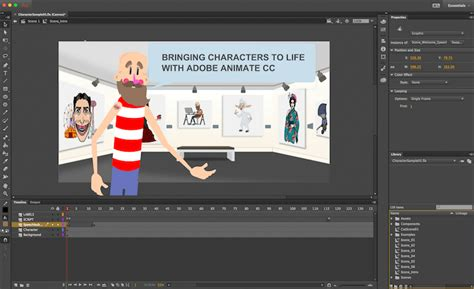 Knowing the right way to export an svg (scalable vector graphics) file can be tricky, especially if your goal is to animate it later. Official Adobe Animate CC Sample on Behance