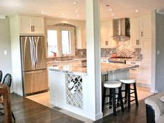 how to make a kitchen island best 25 small open kitchens ideas on open 8737
