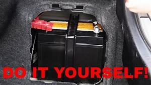 Easy  Toyota Camry Hybrid 12v Battery Replacement