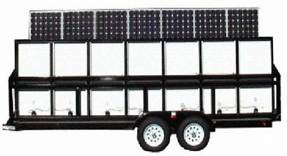 Generator Construction Solar Mobile Silent Eco Tech