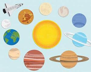 Solar System Word Clip Art (page 3) - Pics about space