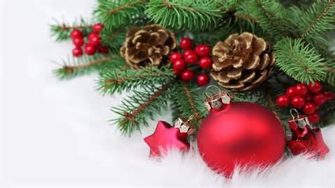 christmas decorations wallpaper 11232