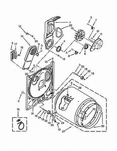 Amana Model Ned4655ew1 Residential Dryer Genuine Parts