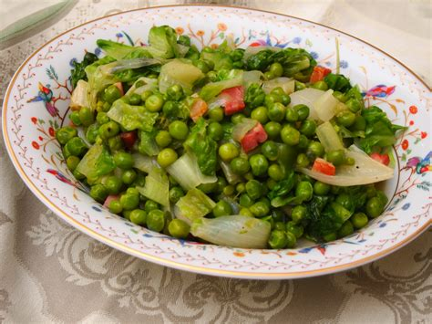 petit pois a la mustard with mutton