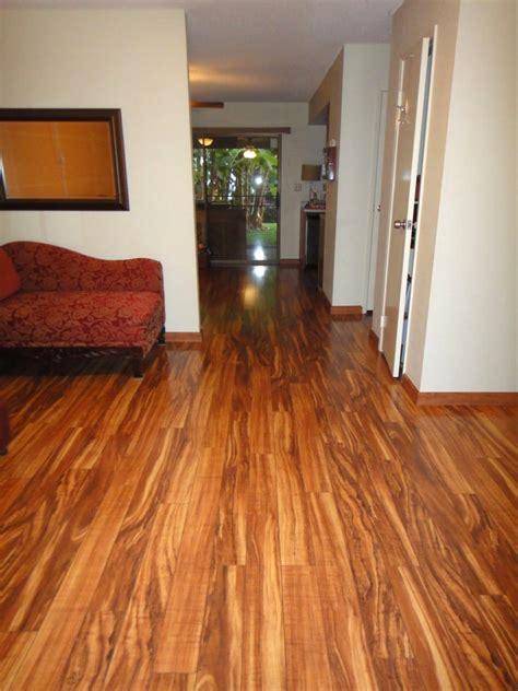 Hawaiian Curly Koa Wood Flooring  Taraba Home Review