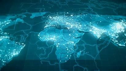 4k Map Tech Wallpapers Desktop Animated Animation