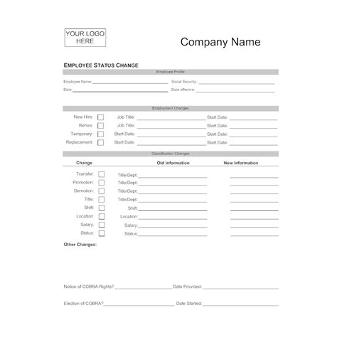 change text in paraboot template employee status change