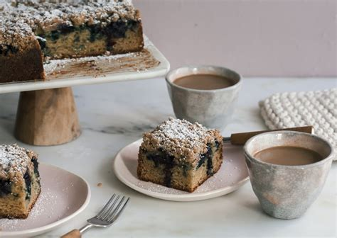 Butter a medium bundt tin and dust well. Blueberry Cardamom Coffee Cake - A Cozy Kitchen